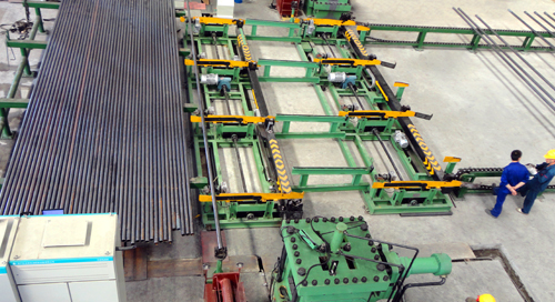 Longyuan two XHM250B hydraulic upsetting machine production in Philippines
