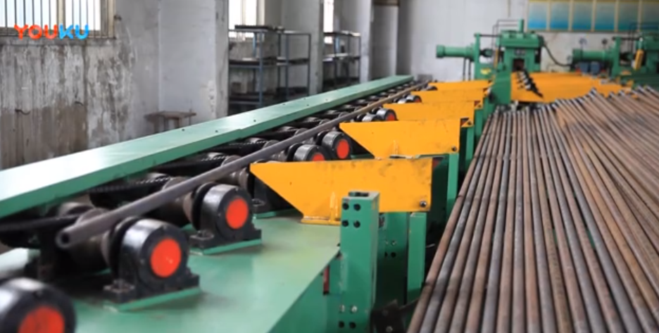 Automatic Quenching and Tempering Line