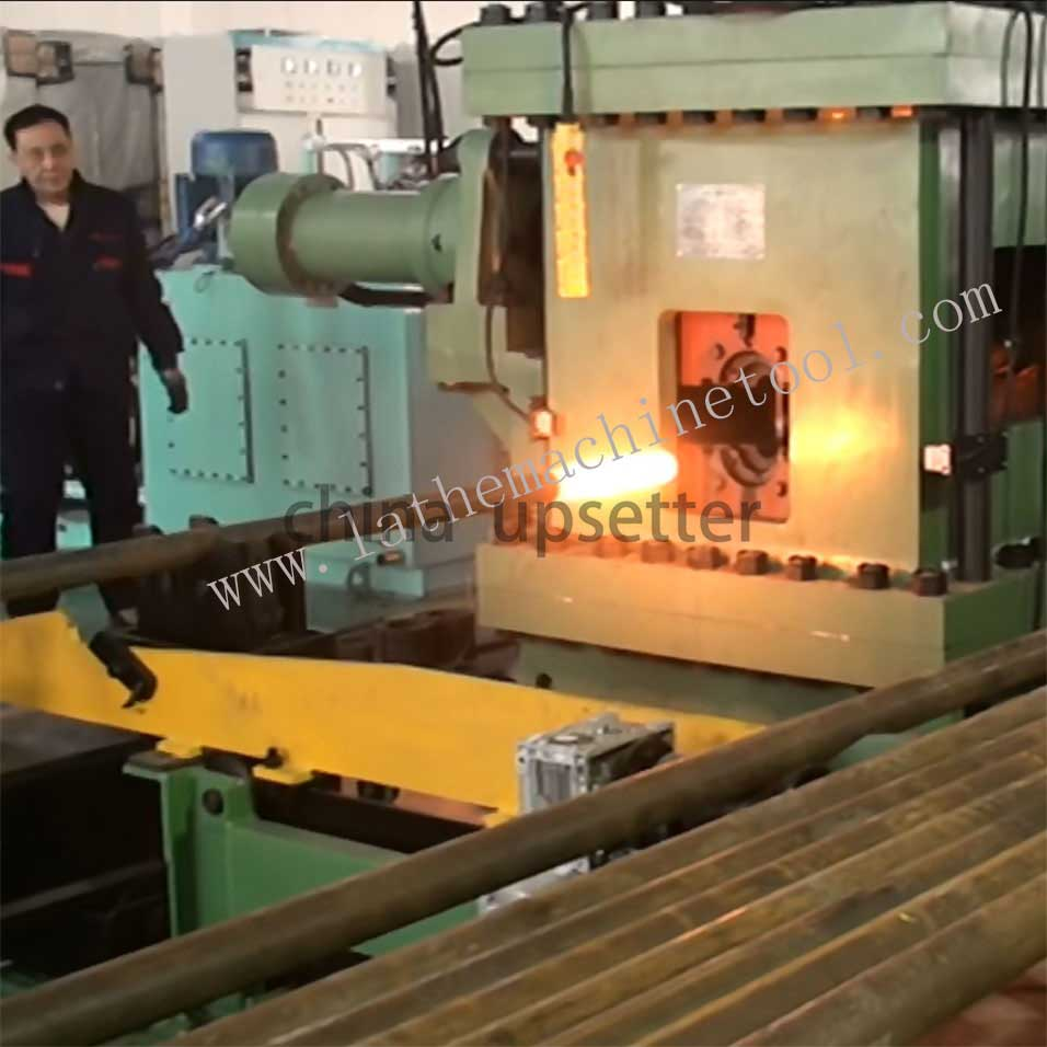 The hydraulic upsetter press machine of our company can produce high quality oil